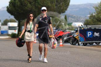 World © Octane Photographic Ltd. Formula 1 – French GP. Paddock. Aston Martin Red Bull Racing RB15 – Pierre Gasly. Paul Ricard Circuit, La Castellet, France. Friday 21st June 2019.