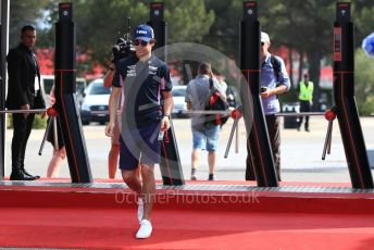 World © Octane Photographic Ltd. Formula 1 – French GP. Paddock. SportPesa Racing Point RP19 – Lance Stroll. Paul Ricard Circuit, La Castellet, France. Friday 21st June 2019.