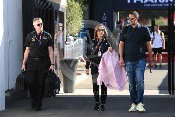 World © Octane Photographic Ltd. Formula 1 - French GP. Paddock. Claire Williams - Deputy Team Principal of ROKiT Williams Racing. Paul Ricard Circuit, La Castellet, France. Sunday 23rd June 2019.