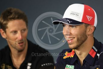 World © Octane Photographic Ltd. Formula 1 – French GP. FIA Drivers Press Conference. Aston Martin Red Bull Racing – Pierre Gasly. Paul Ricard Circuit, La Castellet, France. Thursday 20th June 2019.