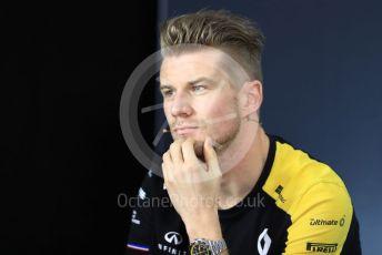 World © Octane Photographic Ltd. Formula 1 – French GP. FIA Drivers Press Conference. Renault Sport F1 Team – Nico Hulkenberg Paul Ricard Circuit, La Castellet, France. Thursday 20th June 2019.