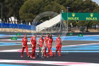 World © Octane Photographic Ltd. Formula 1 – French GP. Track Walk. Scuderia Ferrari SF90 – Sebastian Vettel. Paul Ricard Circuit, La Castellet, France. Thursday 20th June 2019.
