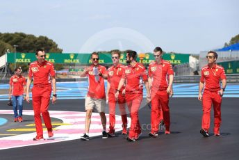 World © Octane Photographic Ltd. Formula 1 – French GP. Track Walk. Scuderia Ferrari SF90 – Sebastian Vettel. Paul Ricard Circuit, La Castellet, France. Thursday 20th June 2019.