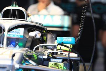 World © Octane Photographic Ltd. Formula 1 – French GP. Pit Lane. Mercedes AMG Petronas Motorsport AMG F1 W10 EQ Power+. Paul Ricard Circuit, La Castellet, France. Thursday 20th June 2019.