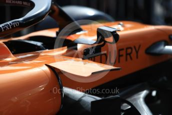 World © Octane Photographic Ltd. Formula 1 – French GP. Pit Lane. McLaren MCL34. Paul Ricard Circuit, La Castellet, France. Thursday 20th June 2019.