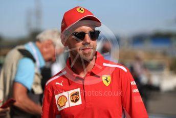 World © Octane Photographic Ltd. Formula 1 – French GP. Pit Lane. Scuderia Ferrari SF90 – Sebastian Vettel. Paul Ricard Circuit, La Castellet, France. Thursday 20th June 2019.
