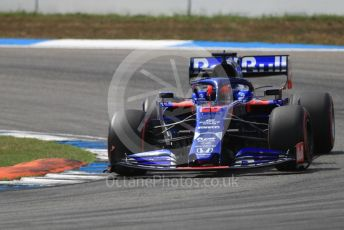 World © Octane Photographic Ltd. Formula 1 – German GP - Qualifying. Scuderia Toro Rosso STR14 – Daniil Kvyat. Hockenheimring, Hockenheim, Germany. Saturday 27th July 2019.