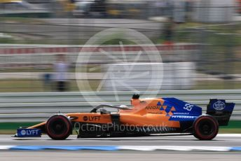World © Octane Photographic Ltd. Formula 1 – German GP - Qualifying. McLaren MCL34 – Carlos Sainz. Hockenheimring, Hockenheim, Germany. Saturday 27th July 2019.