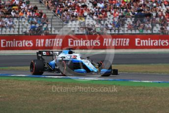 World © Octane Photographic Ltd. Formula 1 – German GP - Qualifying. ROKiT Williams Racing FW 42 – George Russell. Hockenheimring, Hockenheim, Germany. Saturday 27th July 2019.