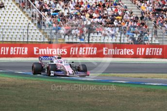 World © Octane Photographic Ltd. Formula 1 – German GP - Qualifying. SportPesa Racing Point RP19 – Lance Stroll. Hockenheimring, Hockenheim, Germany. Saturday 27th July 2019.