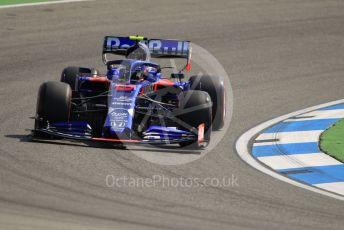 World © Octane Photographic Ltd. Formula 1 – German GP - Practice 1. Scuderia Toro Rosso STR14 – Alexander Albon. Hockenheimring, Hockenheim, Germany. Friday 26th July 2019.