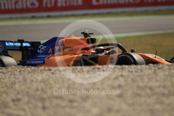 World © Octane Photographic Ltd. Formula 1 – German GP - Practice 1. McLaren MCL34 – Carlos Sainz. Hockenheimring, Hockenheim, Germany. Friday 26th July 2019.