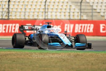 World © Octane Photographic Ltd. Formula 1 – German GP - Practice 1. ROKiT Williams Racing FW 42 – George Russell. Hockenheimring, Hockenheim, Germany. Friday 26th July 2019.