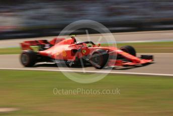 World © Octane Photographic Ltd. Formula 1 – German GP - Practice 1. Scuderia Ferrari SF90 – Charles Leclerc. Hockenheimring, Hockenheim, Germany. Friday 26th July 2019.