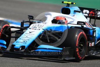 World © Octane Photographic Ltd. Formula 1 – German GP - Practice 1. ROKiT Williams Racing FW42 – Robert Kubica. Hockenheimring, Hockenheim, Germany. Friday 26th July 2019.