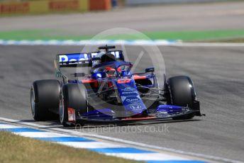 World © Octane Photographic Ltd. Formula 1 – German GP - Practice 2. Scuderia Toro Rosso STR14 – Daniil Kvyat. Hockenheimring, Hockenheim, Germany. Friday 26th July 2019.