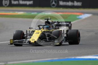 World © Octane Photographic Ltd. Formula 1 – German GP - Practice 3. Renault Sport F1 Team RS19 – Daniel Ricciardo. Hockenheimring, Hockenheim, Germany. Saturday 27th July 2019.