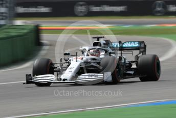 World © Octane Photographic Ltd. Formula 1 – German GP - Practice 3. Mercedes AMG Petronas Motorsport AMG F1 W10 EQ Power+ - Lewis Hamilton. Hockenheimring, Hockenheim, Germany. Saturday 27th July 2019.