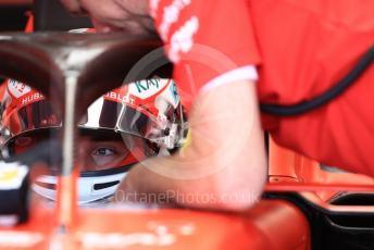 World © Octane Photographic Ltd. Formula 1 – German GP - Practice 3. Scuderia Ferrari SF90 – Charles Leclerc. Hockenheimring, Hockenheim, Germany. Saturday 27th July 2019.