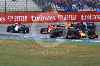 World © Octane Photographic Ltd. Formula 1 – German GP - Race. Aston Martin Red Bull Racing RB15 – Pierre Gasly. Hockenheimring, Hockenheim, Germany. Sunday 28th July 2019.