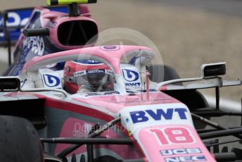 World © Octane Photographic Ltd. Formula 1 – German GP - Race. SportPesa Racing Point RP19 – Lance Stroll. Hockenheimring, Hockenheim, Germany. Sunday 28th July 2019.
