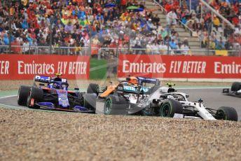 World © Octane Photographic Ltd. Formula 1 – German GP - Race. Mercedes AMG Petronas Motorsport AMG F1 W10 EQ Power+ - Valtteri Bottas, Scuderia Toro Rosso STR14 – Alexander Albon and McLaren MCL34 – Carlos Sainz. Hockenheimring, Hockenheim, Germany. Sunday 28th July 2019.