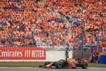 World © Octane Photographic Ltd. Formula 1 – German GP - Race. Aston Martin Red Bull Racing RB15 – Max Verstappen. Hockenheimring, Hockenheim, Germany. Sunday 28th July 2019.