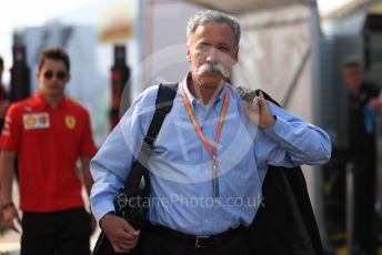 World © Octane Photographic Ltd. Formula 1 - German GP - Paddock. Chase Carey - Chief Executive Officer of the Formula One Group. Hockenheimring, Hockenheim, Germany. Friday 26th July 2019.