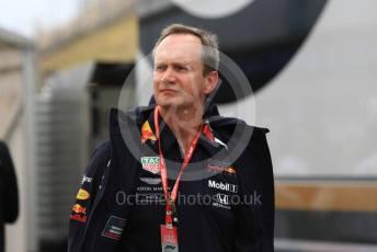 World © Octane Photographic Ltd. Formula 1 - German GP - Paddock. Paul Monaghan - Chief Engineer of Red Bull Racing. Hockenheimring, Hockenheim, Germany. Sunday 28th July 2019.