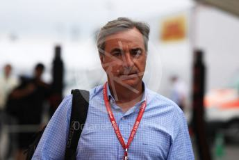 World © Octane Photographic Ltd. Formula 1 – German GP - Paddock. Carlos Sainz snr. Hockenheimring, Hockenheim, Germany. Sunday 28th July 2019.