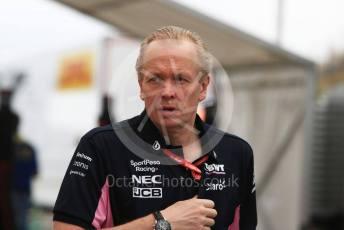 World © Octane Photographic Ltd. Formula 1 - German GP - Paddock. Andrew (Andy) Green - Technical Director at SportPesa Racing Point. Hockenheimring, Hockenheim, Germany. Sunday 28th July 2019.
