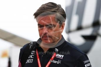 World © Octane Photographic Ltd. Formula 1 - German GP - Paddock. Andy Stevenson – Sporting Director at SportPesa Racing Point. Hockenheimring, Hockenheim, Germany. Sunday 28th July 2019.