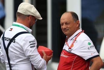 World © Octane Photographic Ltd. Formula 1 - German GP - Paddock. Frederic Vasseur – Team Principal and CEO of Sauber Motorsport AG. Hockenheimring, Hockenheim, Germany. Sunday 28th July 2019.