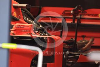 World © Octane Photographic Ltd. Formula 1 – German GP - Paddock. Scuderia Ferrari SF90. Hockenheimring, Hockenheim, Germany. Thursday 25th July 2019.
