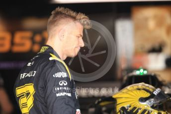 World © Octane Photographic Ltd. Formula 1 – German GP - Paddock. Renault Sport F1 Team RS19 – Nico Hulkenberg. Hockenheimring, Hockenheim, Germany. Thursday 25th July 2019.