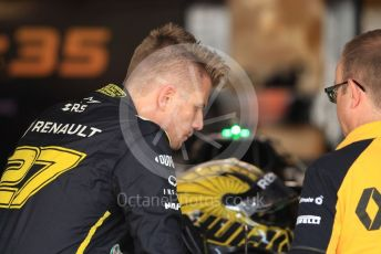 World © Octane Photographic Ltd. Formula 1 – German GP - Paddock. Renault Sport F1 Team RS19 – Nico Hulkenberg. Hockenheimring, Hockenheim, Germany. Thursday 25th July 2019.