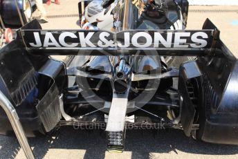 World © Octane Photographic Ltd. Formula 1 – German GP - Paddock. Rich Energy Haas F1 Team VF19 – Romain Grosjean. Hockenheimring, Hockenheim, Germany. Thursday 25th July 2019.