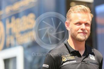 World © Octane Photographic Ltd. Formula 1 – German GP - Paddock. Rich Energy Haas F1 Team VF19 – Kevin Magnussen. Hockenheimring, Hockenheim, Germany. Thursday 25th July 2019.