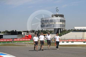 World © Octane Photographic Ltd. Formula 1 – German GP - Track Walk. McLaren MCL34 – Lando Norris. Hockenheimring, Hockenheim, Germany. Thursday 25th July 2019.