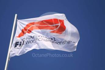 World © Octane Photographic Ltd. Formula 1 – Hungarian GP - Pitlane. F1 Flag. Hungaroring, Budapest, Hungary. Thursday 1st August 2019.