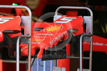World © Octane Photographic Ltd. Formula 1 – Hungarian GP - Pitlane. Scuderia Ferrari SF90 – Sebastian Vettel. Hungaroring, Budapest, Hungary. Thursday 1st August 2019.