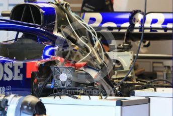 World © Octane Photographic Ltd. Formula 1 – Hungarian GP - Pitlane. Scuderia Toro Rosso STR14. Hungaroring, Budapest, Hungary. Thursday 1st August 2019.