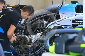 World © Octane Photographic Ltd. Formula 1 – Hungarian GP - Pitlane. ROKiT Williams Racing FW 42. Hungaroring, Budapest, Hungary. Thursday 1st August 2019.