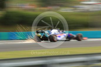 World © Octane Photographic Ltd. Formula 1 – Hungarian GP - Practice 1. Scuderia Toro Rosso STR14 – Alexander Albon. Hungaroring, Budapest, Hungary. Friday 2nd August 2019.