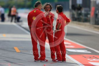 World © Octane Photographic Ltd. Formula 1 - Hungarian GP - Practice 1. Laurent Mekies – Sporting Director of Scuderia Ferrari. Hungaroring, Budapest, Hungary. Friday 2nd August 2019.