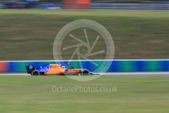 World © Octane Photographic Ltd. Formula 1 – Hungarian GP - Practice 1. McLaren MCL34 – Lando Norris. Hungaroring, Budapest, Hungary. Friday 2nd August 2019.