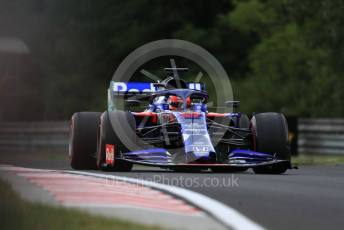 World © Octane Photographic Ltd. Formula 1 – Hungarian GP - Practice 1. Scuderia Toro Rosso STR14 – Daniil Kvyat. Hungaroring, Budapest, Hungary. Friday 2nd August 2019.