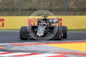 World © Octane Photographic Ltd. Formula 1 – Hungarian GP - Practice 1. Rich Energy Haas F1 Team VF19 – Romain Grosjean. Hungaroring, Budapest, Hungary. Friday 2nd August 2019.