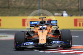 World © Octane Photographic Ltd. Formula 1 – Hungarian GP - Practice 1. McLaren MCL34 – Carlos Sainz. Hungaroring, Budapest, Hungary. Friday 2nd August 2019.