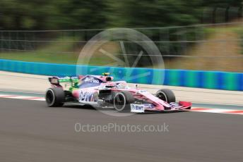World © Octane Photographic Ltd. Formula 1 – Hungarian GP - Practice 2. SportPesa Racing Point RP19 – Lance Stroll. Hungaroring, Budapest, Hungary. Friday 2nd August 2019.